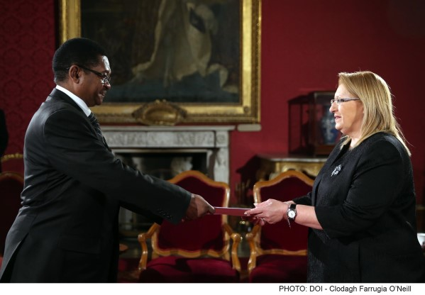Accreditation HE George Madafa as High Commissioner of Tanzania to Malta44
